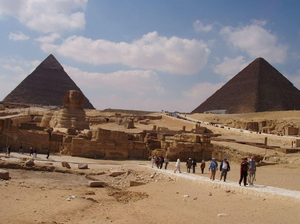 gizeh lintrieur des pyramides
